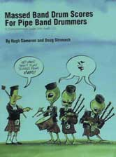 Massed Bands Drum Scores Book & CD - Cameron & Stronach